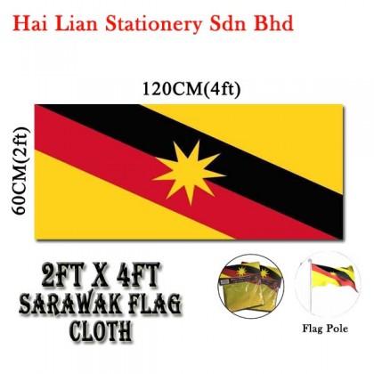 2' X 4' Malaysia / Sarawak Flag