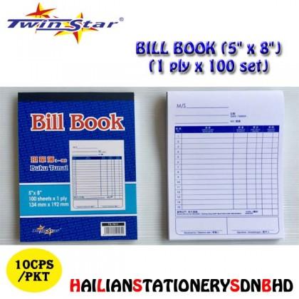 Twin Star Bill Book