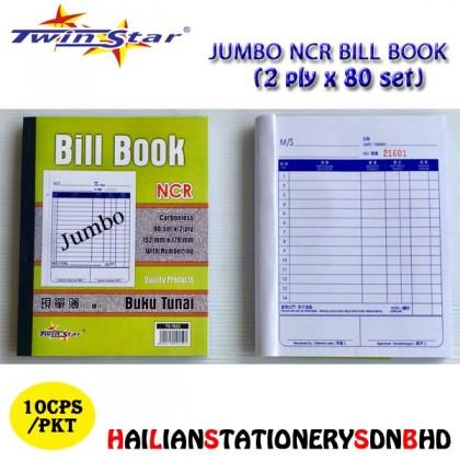 Twin Star 2Ply  NCR Bill Book