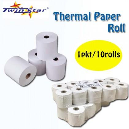 Twin Star Thermal Roll (44mm) 10rolls/PKT