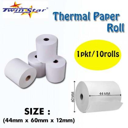 Twin Star Thermal Roll (44mm) 100rolls/BOX