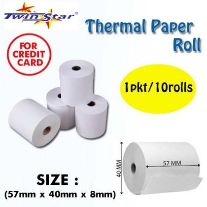 Twin Star Thermal Roll (40mm) 100rolls/BOX