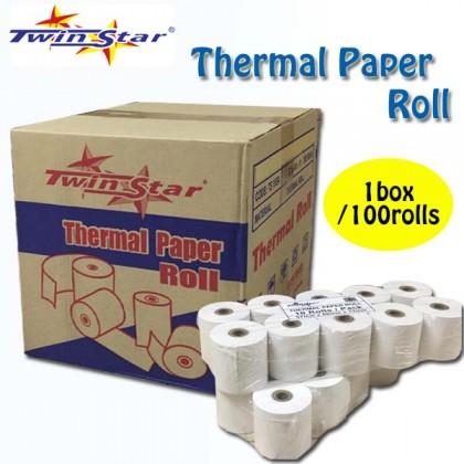 Twin Star Thermal Roll (57mm) 100rolls/BOX