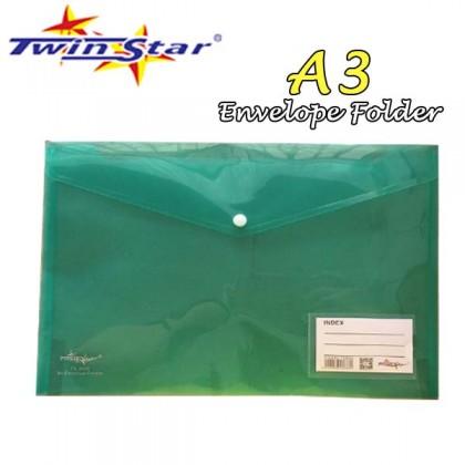 Twin Star Envelope Folder