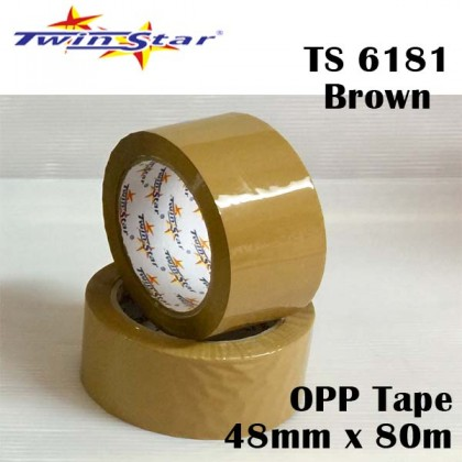 Twin Star OPP Packing Tape [48mm x 80m]